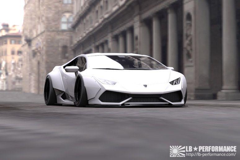 Lamborghini Huracan by Liberty Walk