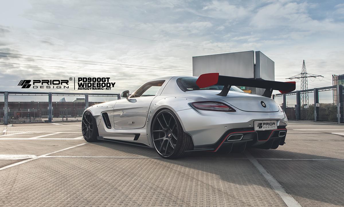 Mercedes SLS AMG by Prior Design