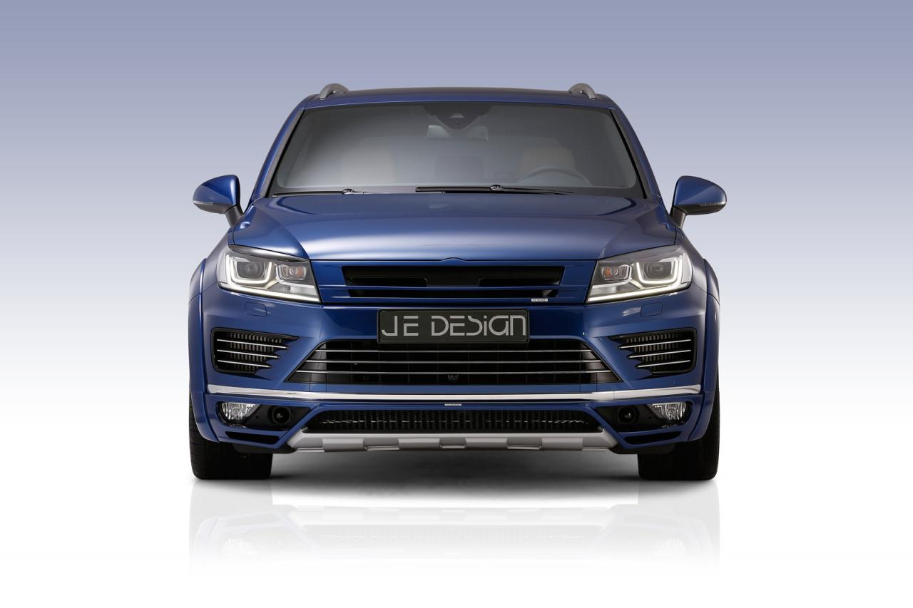 Volkswagen Touareg facelift by JE Design