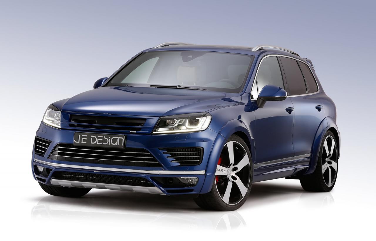 Volkswagen Touareg facelift by JE Design