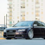 Audi RS4 on Vossen Wheels