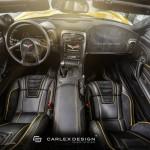 Chevrolet Corvette C6 Yellow Line by Carlex Design