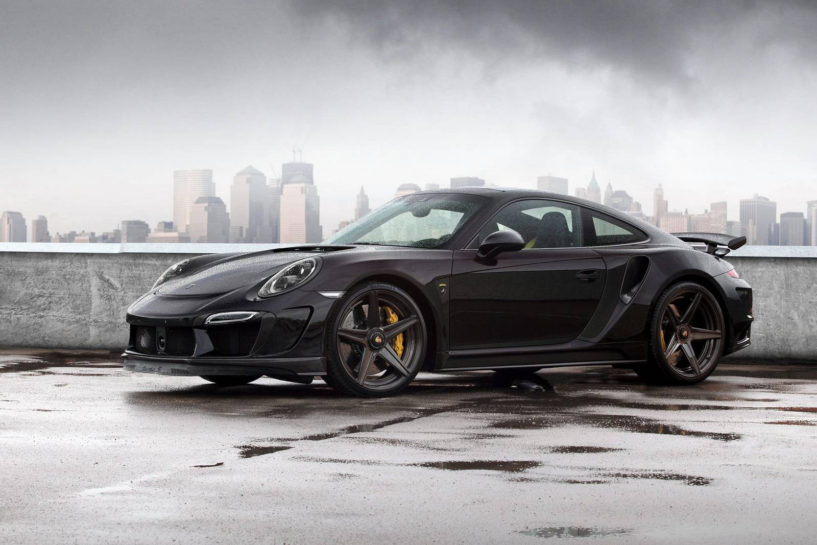 Black Porsche 911 Stinger GTR by TopCar