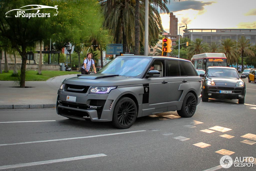 Range Rover Mystère Package by Hamann Caught in Barcelona