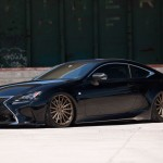 Lexus RC F Sport on Vossen Wheels