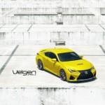 Lexus RC F on Velgen Wheels