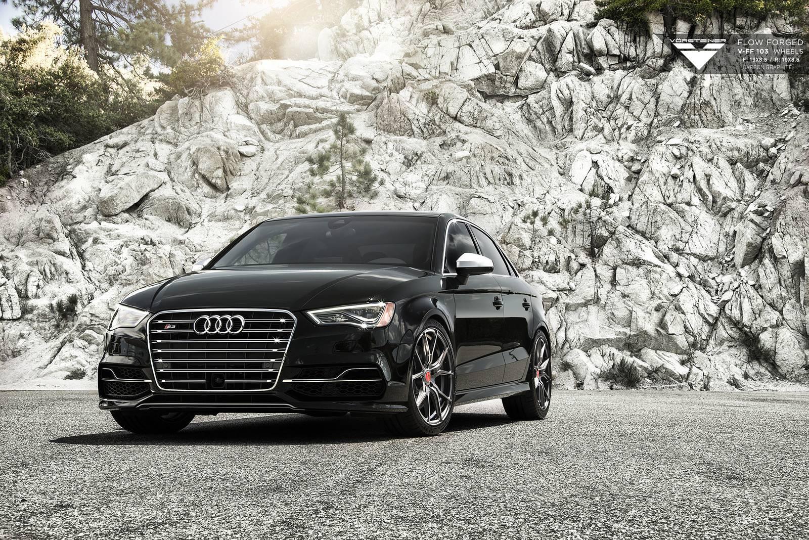 Audi S3 Sits on Vorsteiner Wheels