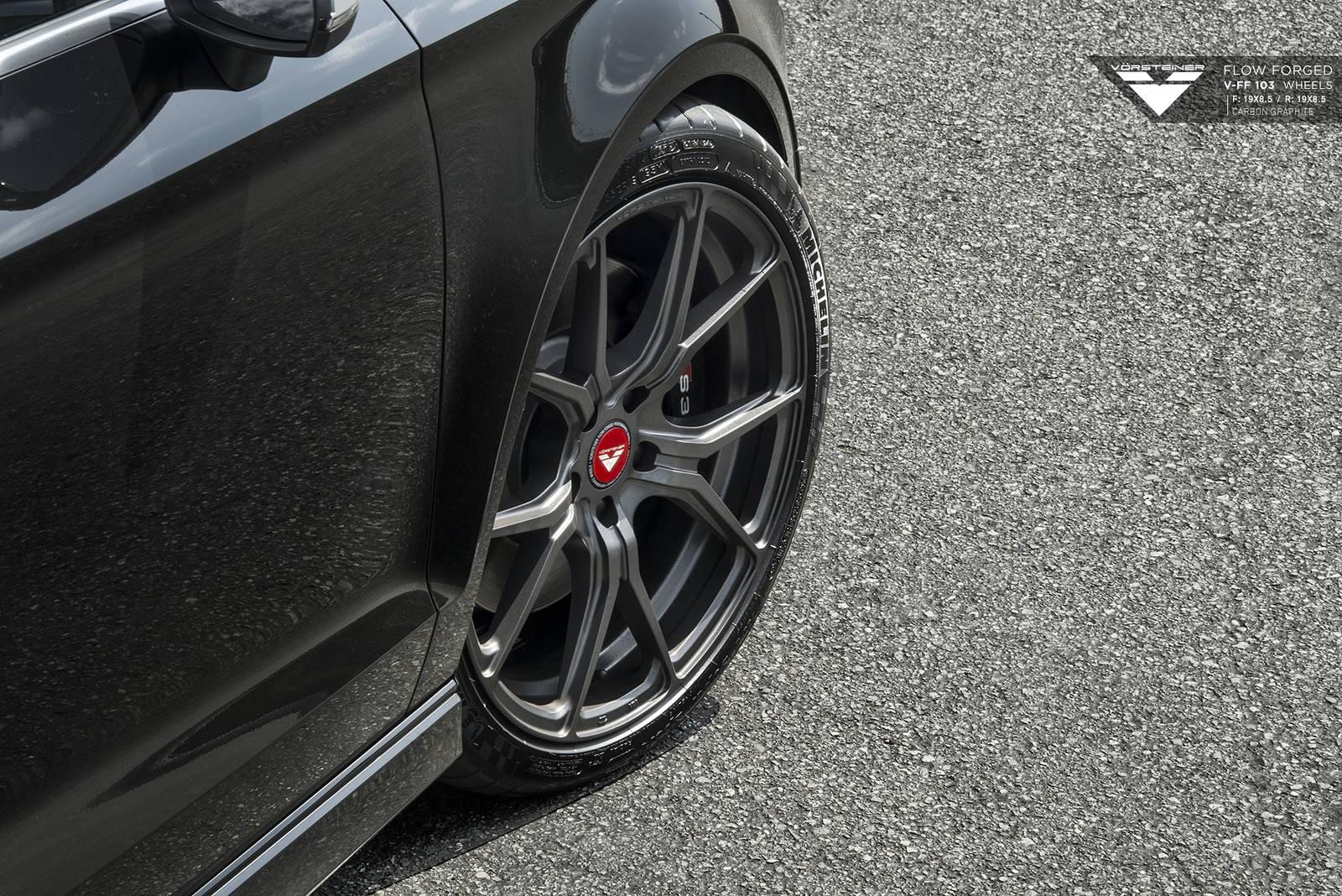 Audi S3 on Vorsteiner Wheels