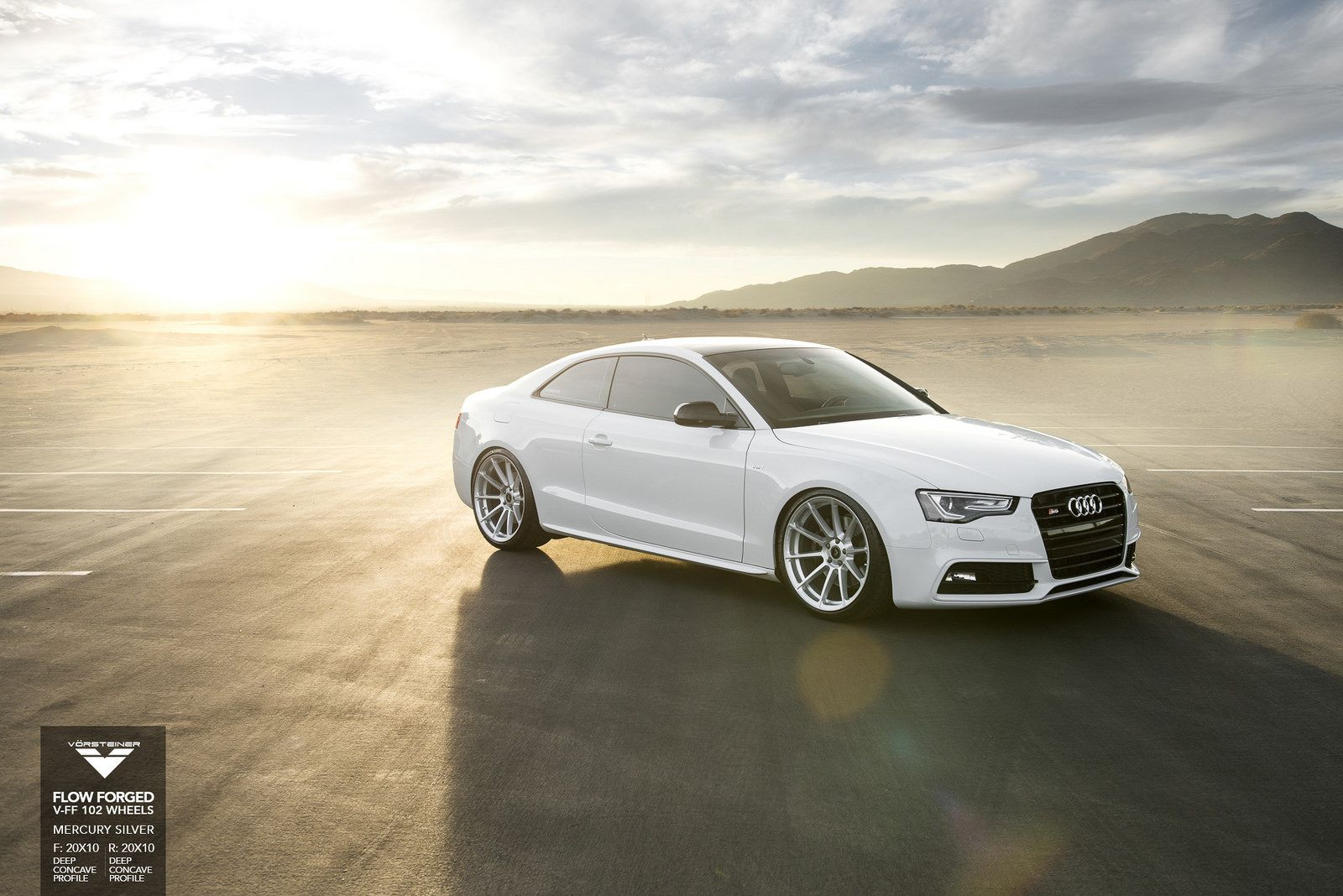 Audi S5 on Vorsteiner Wheels