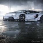 "Lamborghini Aventador Gets ""Zero Fighter"" Body Kit by Liberty Walk"