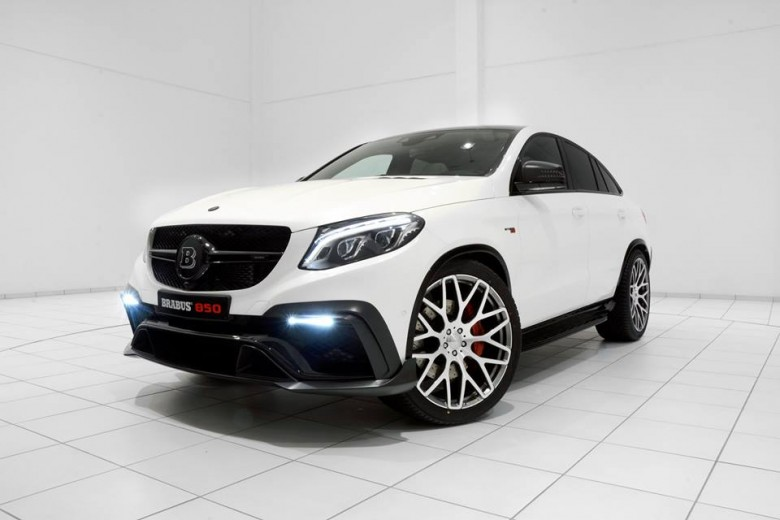 2015 Frankfurt Motor Show: Mercedes GLE Coupe 850 by Brabus