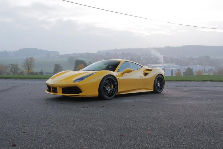 Ferrari 488 GTB by Novitec Rosso Receives Power Boost