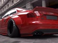 Liberty Walk Audi S5 Breaks Cover