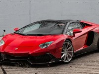 Rosso Mars Lamborghini Aventador by SR Auto Group