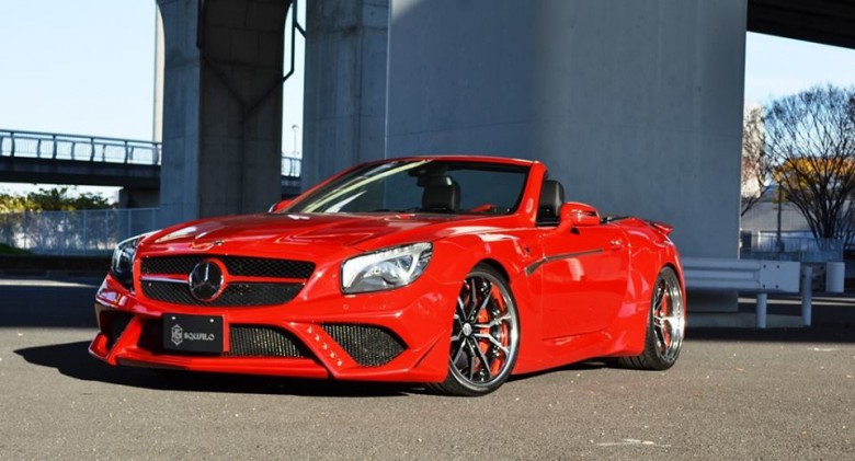 "Mercedes-Benz SL63 with ""Grado"" Wheels, Installation by VITT Squalo"