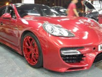 Porsche Panamera Turbo with Caractere Exclusive Kit by Reinart Design and Wrap Workz Is a Real Deal