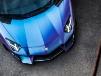 Lamborghini Aventador Dragon Sits on PUR Wheels, Installation by DMC