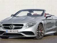 Mercedes-AMG S63 Cabriolet Celebrates Daimler`s 130th Anniversary