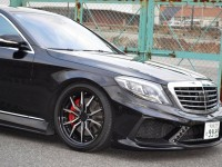 Mercedes S-Class Sits on Grado Wheels, Installation by VITT Performance