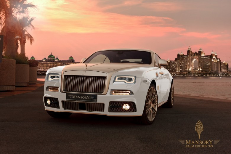 """Rolls-Royce Wraith """"Palm Edition 999"""" by Mansory"""