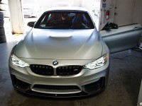 Frozen Silver F80 BMW M4 Adorned with M Performance Parts, Installation by EAS