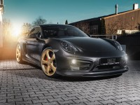 Porsche Cayman S with GT Aero Kit by Techart