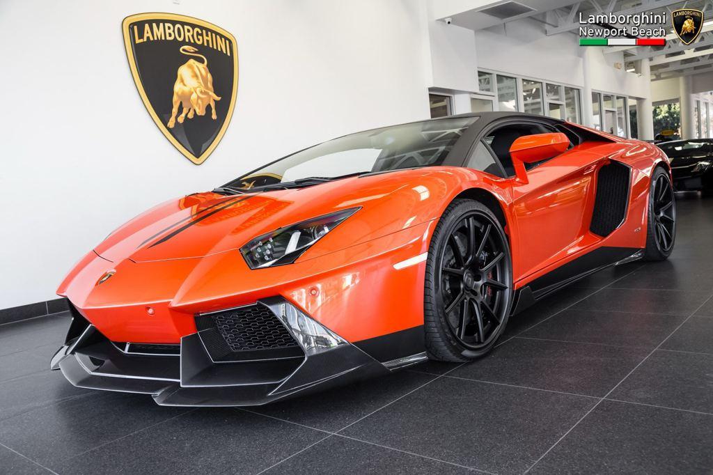 Vorsteiner Lamborghini Aventador Is Up For Grabs At Newport Beach Carz Tuning