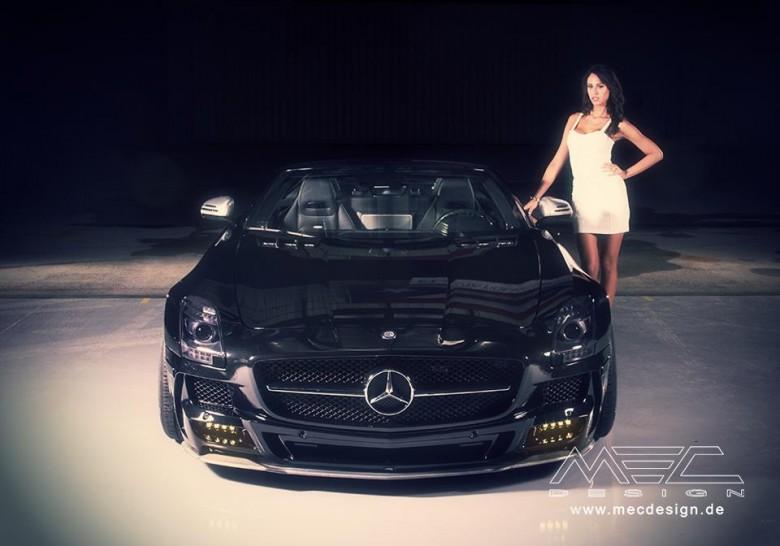 Mercedes SLS by MEC Design – Photo Gallery