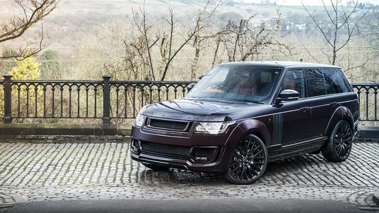 Range Rover RS with Full Visual Tweaks from Kahn Design