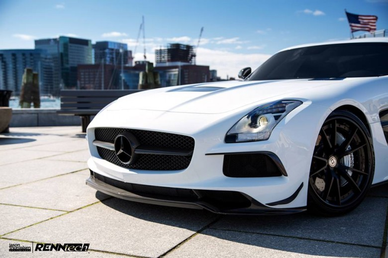 Mercedes SLS Black Series with Power Kit by RENNtech