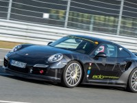 Edo Competition Takes Porsche 911 Turbo S Out for a Spin on the Sachsernring, Germany