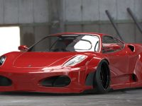 Iconic Ferrari F430 Gets Killer Wide Body from Liberty Walk