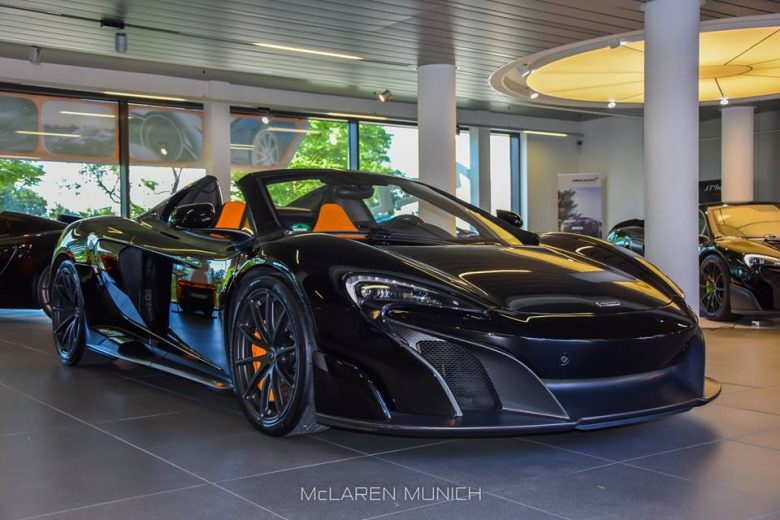 McLaren 675LT Spider Gets Proper Display in Munich