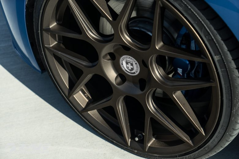 HRE Wheels Dress-Up F30 BMW 3-Series with Special Alloys