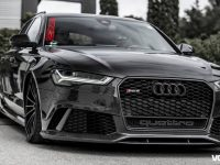 Audi RS6 Receives Carbon Fiber Kit from Tuner