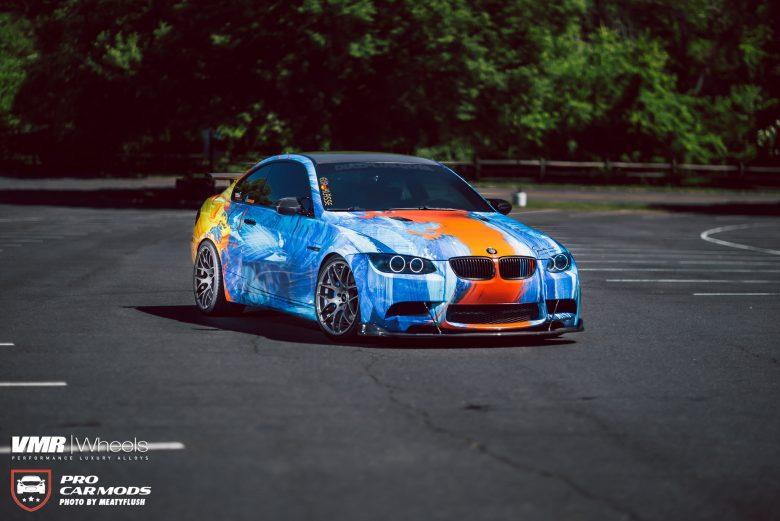 E92 BMW M3 gets Amazing Body Wrap from Diaz Plus
