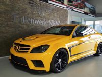 Mercedes C-Coupe with Black Series kit by NRW