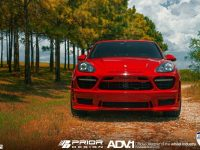 EVS Motors Adds Prior Design Aero Kit for Porsche Cayenne