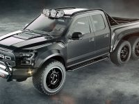 Like It or Hate It: Ford F-150 6X6 Velocity Raptor by Hennessey Is a Real Blast
