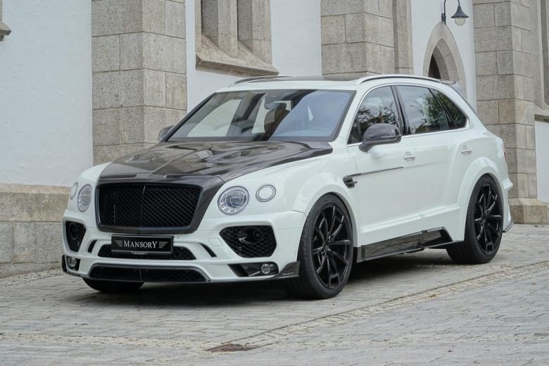 Bentley Bentayga Looks Magnificent with the Mansory Wide Aero Kit and Power Upgrade
