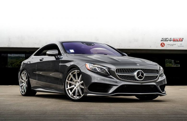 """Mercedes S550 Coupe with RENNtech Wheels Is a Real """"Aristocrat"""" Sports Car"""
