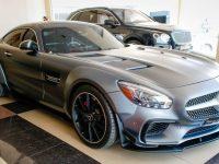 Abu Dhabi Receives Smashing Mercedes AMG GT with Prior Design Detailing
