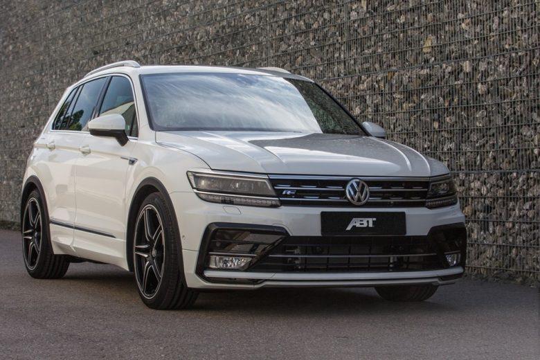 Volkswagen Tiguan Is Tweaked with ABT`s Power Kit