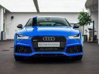 "Audi RS7 Looks Quite ""Exclusive"" with the Voodoo Blue Package"