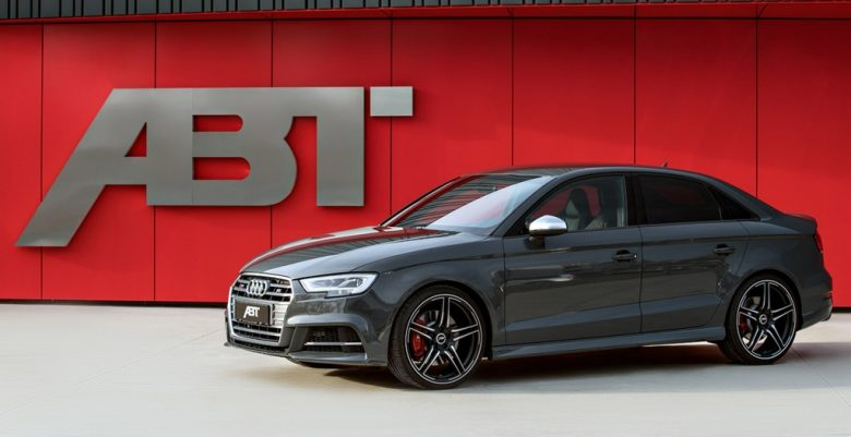 Audi S3 Receives Power Upgrade Courtesy of ABT Sportsline