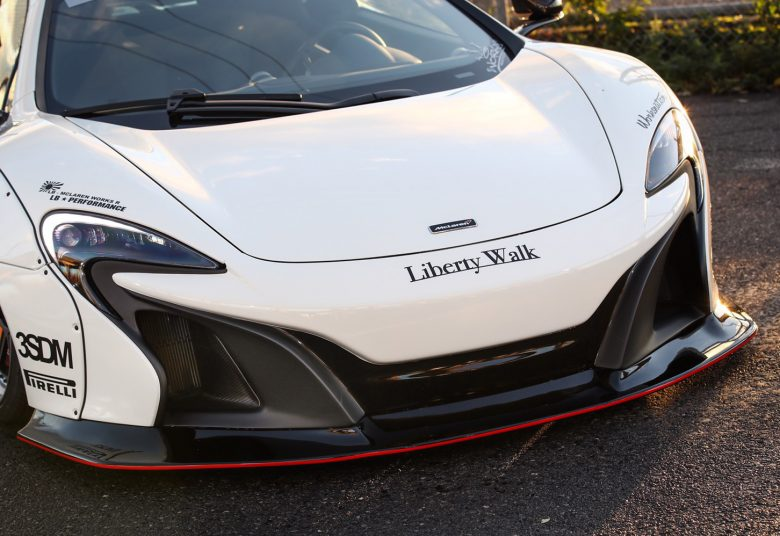 McLaren 650S by Liberty Walks Gets New Looks for Spicy Price