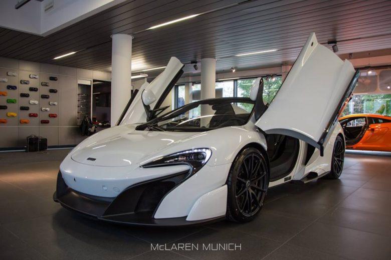 McLaren 675LT Spider Gets Photo Session