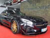 Outrageous Prior Design Mercedes-AMG GT by NRW Looks Goldish