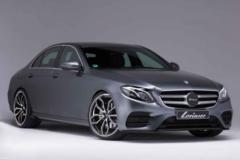 2017 Mercedes-Benz E-Class by Lorinsen Kicks Off