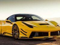 Creative Bespoke Fits Ferrari 458 Italia with Prior Design Wide Aero Kit